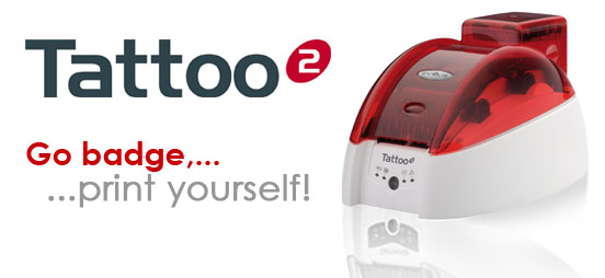 Tattoo 2 card printer