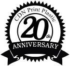 Plastic Gift Card Printing, Plastic Card Printer ? CDN Print Plastic 20th Anniversary